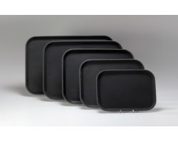Vassoio Rettangolare 60x40 cm SUPERPLASTIC ANTISCIVOLO nero 12610033