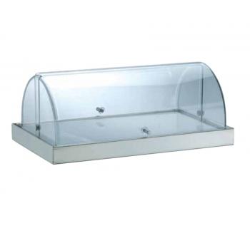Portaformaggi affettati rettangolare refrigerato SQUARE V760554R01