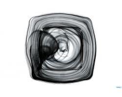 Piatto Quadrato 30x30 cm LAGUNA nero 4893-5131