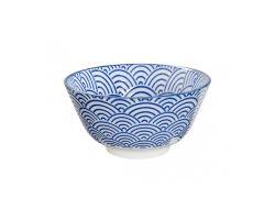 Ciotola bowl bianca e blu Tokyo Design TK8078