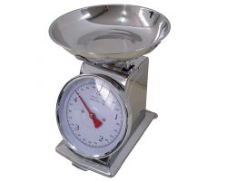 Bilancia cucina meccanica RETRO\' inox 5 KG 20.5x25.5 cm SD/5KG