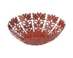 Fruttiera in ferro Ø 28 cm Rosso CASABELLA 5090-01-CBA