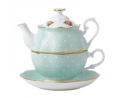 Tea For One POLKA ROSE POLROS12829 Royal Albert
