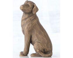 STATUA WILLOW TREE LOVE MY DOG (DARK) 27683