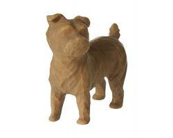 STATUA WILLOW TREE LOVE MY DOG brown 27791