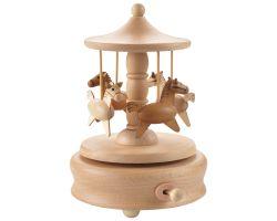 Carillon in legno di faggio GIOSTRA Ø 11 x 16.5 cm A1007