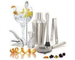 Set DELUXE cocktail 7 pezzi acciaio inox 107-221-00