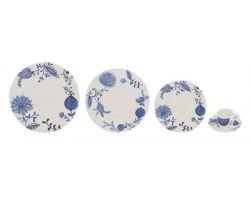 Setvizio Piatti Tavola e Tazzine 31 pezzi BLUE ONION 10020251