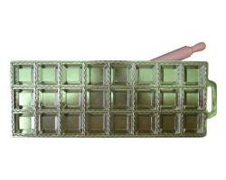 RAVIOLATORE quadro 24 pz in alluminio con mattarellino 115164
