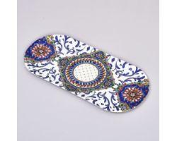 Vassoio ovale 43 x 20.5 cm TRINACRIA D17470