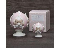 Pumo Orsetto rosa H 14 cm BABY PUMI D17385