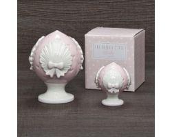 Pumo Cuoricini rosa H 8 cm BABY PUMI D17395