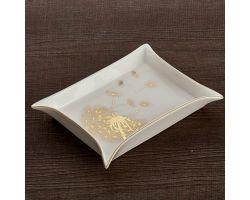 Svuota tasche Soffione 20 x 16 cm oro HAUTE COUTURE D17407