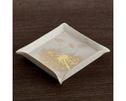 Svuota tasche Soffione 18 x 18 cm oro HAUTE COUTURE D17409