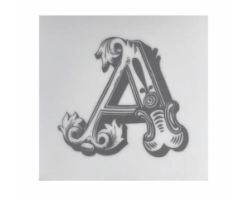 Piastrella Sottobicchiere Letter A A084111AA