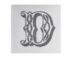 Piastrella Sottobicchiere Letter D A084111AD