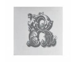 Piastrella Sottobicchiere Letter R A084111AR