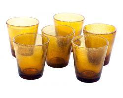Bicchiere Tumbler 30 cl Ambra in vetro SURF 26015