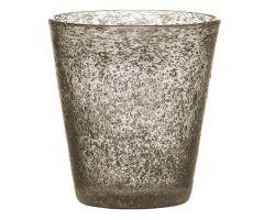 Bicchiere Tumbler 30 cl Grigio in vetro SURF 26019