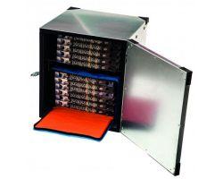 BOX PIZZA RIGIDO ECONOMICO PER DUE BORSE TERMICHE Ø 40 cm BPE40R