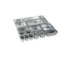 Bacinella acciaio inox GN 1/3 H 15 cm 29317