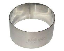 Fascia Ø 9 x H 3.5 cm acciaio inox 5520149