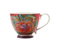 Tazza Mug 400 ml Flower Peony HANOI Rossa DI0016