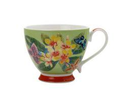 Tazza Mug 400 ml Frangipani EXOTICA Verde DI0107
