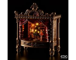 TEATRO POLY CARILLON CON LED H 56x46x28 cm 683191.42