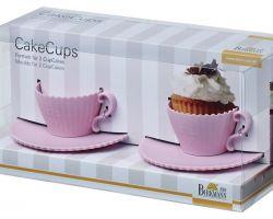 Set 2 Tazze Cake Pops Stampi in Silicone  250468