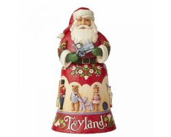 BABBO NATALE TOYLAND EDIZIONE 14TH IN CHRISTMAS SONG SERIES 6006630