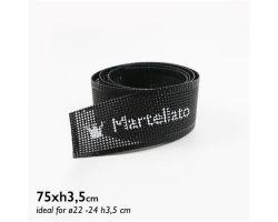 Fascia MICROFORATA silicone Ø22-24xH3.5cm Confezione 10 pezzi 30BANDS06
