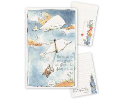 Quadernino A6 – La felicità è la via DS31-12