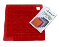 Sottopentola in SILICONE ACC071 MISS HOT 175X175 mm Rosso Cherry