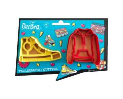 Stampini Set 2 Tagliapasta TEENAGER in plastica 0255139
