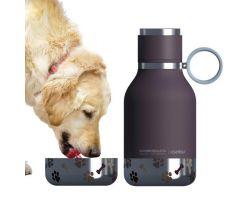 Bottiglia Termica e Ciotola per cani DOG BOWL BOTTLE Borgogna AISDB1-BU