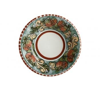 Piatto Fondo Ø 21 cm Ceramica Salerno MELOGRANI JL0055