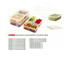 Bacinella Polipropilene GN 1/2 h 6.5 CAMBRO 22PP190-119779