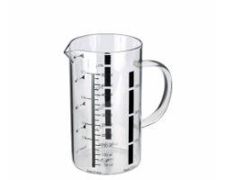Caraffa GRADUATA in vetro borosilicato 1 L 5114053-09.1200.35.10