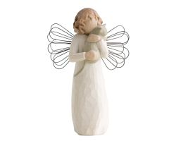 STATUA ANGELO WILLOW TREE WITH AFFECTION 26109