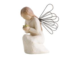 STATUA ANGELO WILLOW TREE ANGEL OF MIRACLES 26097