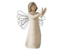 STATUA ANGELO WILLOW TREE ANGEL OF HOPE 26235