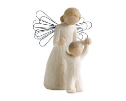 STATUA ANGELO WILLOW TREE GUARDIAN ANGEL 26034