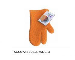 GUANTO ZEUS IN SILICONE ARANCIO ACC072