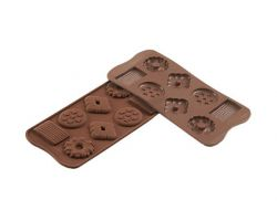 Stampo in Silicone SCG25 CHOCO BISCUITS