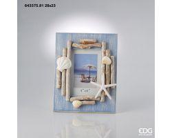 Cornice Portafoto Beach con Conchiglie 643376.81