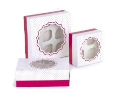 SET 3 SCATOLE PORTA MUFFIN 0339432