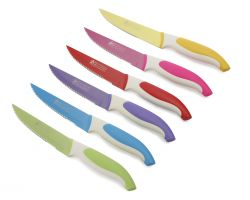 Set Coltelli Bistecca Colorati  NK6008