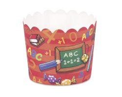 Pirottini o Forme da Forno per Cupcake Scuola e Numeri 337213