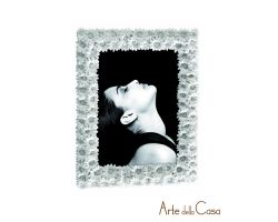 Cornice Portafoto in resina Margherite 13x18 cm  Linea I124